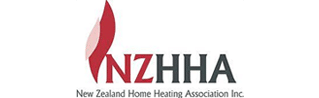 nz home heating association logo - P & M Fireplaces