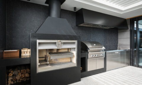 Built-in Stainless Steel BBQ